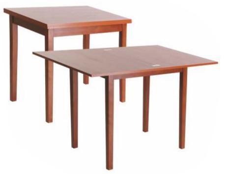 Раскладной обеденный стол Нордик. Столешница из ЛДСПФ, каркас - бук