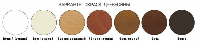 Цветовая палитра к столам Мелитополь мебель
