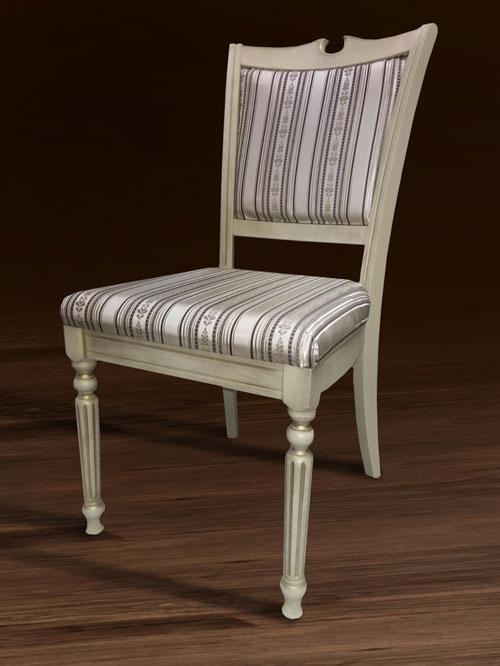 Стул деревянный Сицилия люкс с мягким сиденьем и спинкой
