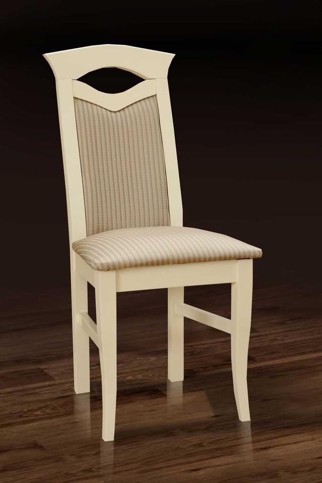 Стул деревянный Милан с мягким сиденьем и спинкой