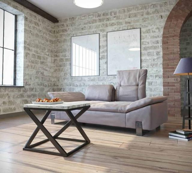 Стол журнальный Бент серии Лофт от ТМ Металл-дизайн