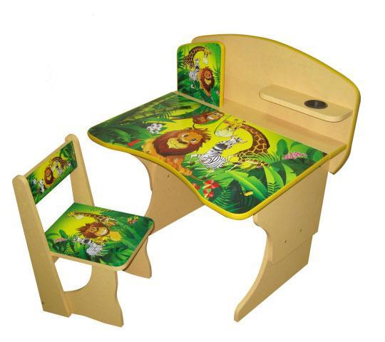 Оригинальный, многофункциональный детский столик Африка, идеальный предмет в процессе развития ребенка. Благодаря этому комплекту, из столика и стульчика, ваш ребенок будет иметь свое место для учебы и игр.