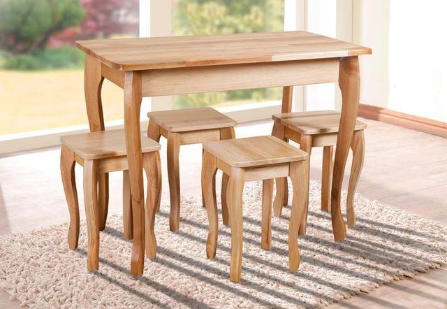 Комплект Смарт, стол и четыре табутета