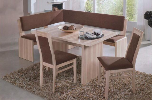Кухонный уголок Виктор-9 со столом и двумя мягкими табуретами