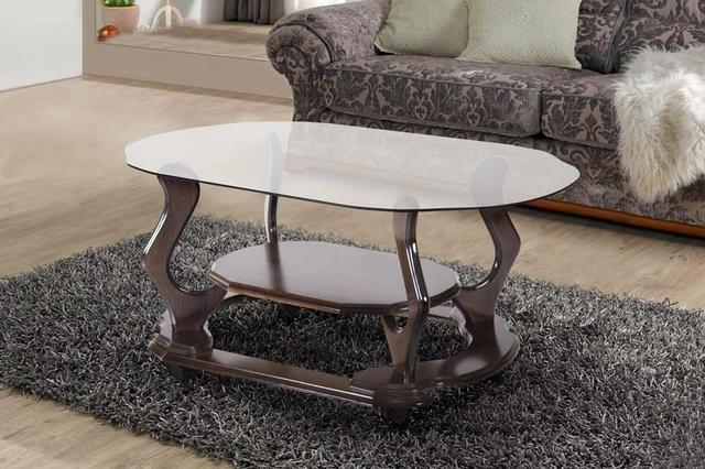 Стол журнальный со стеклянной столешницей Уно, Микс мебель