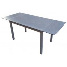 Стол стеклянный раскладной DST-101T камень