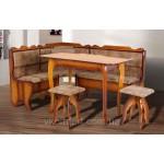 Кухонный уголок Даллас с раскладным столом (код: 12180)