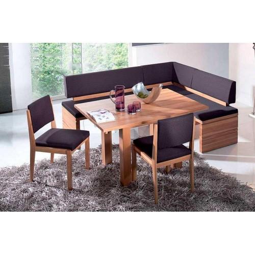 Кухонный уголок Виктор 8 комплект (стол+диван+2 стула) Ливс