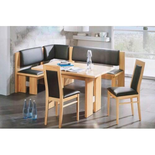Кухонный уголок Виктор 10 комплект (стол+диван+2 стула) Ливс