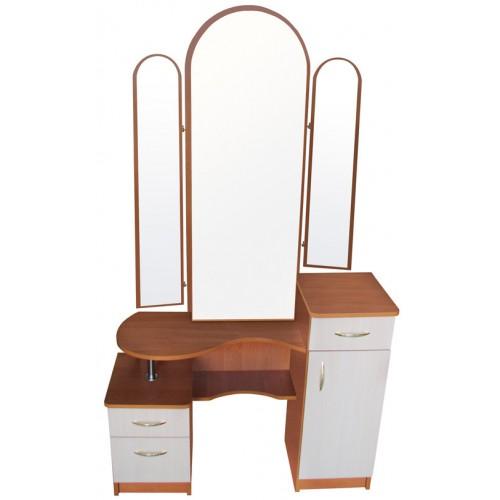 Трюмо Николь 2 с зеркальной дверью
