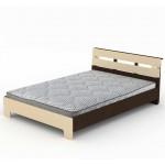 Кровать Стиль 1400 двуспальная, Компанит (код: 12272)