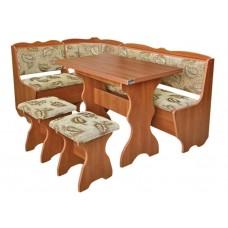 Кухонный уголок Лорд (стол+диван+2 табурета)