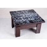 Стол трансформер Дельта со стеклом (код: 10643)