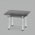 Стол обеденный стеклянный Тетра GG/мет (код: 10740)