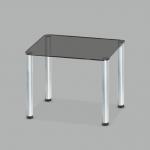 Стол обеденный стеклянный Моно G10/мет (код: 10759)