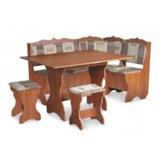 Кухонный уголок Сирия комплект (стол КС 3 раскладной+диван+2 табурета Т1)