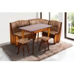 Кухонный уголок Канзас с раскладным столом (код: 10936)