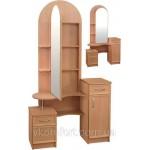 Трюмо Камелия с зеркальной дверью (код: 10976)