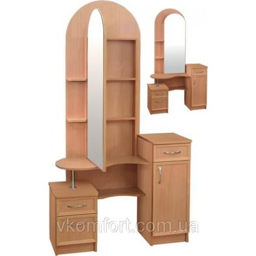 Трюмо Камелия с зеркальной дверью