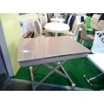 Журнально-обеденный стеклянный стол-трансформер DF901T (код: 10760)