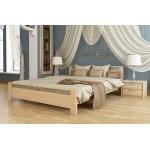 Кровать двуспальная деревянная Афина (код: 11166)