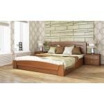 Кровать двуспальная Селена Аури с нишей для белья (код: 11172)