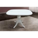 Стол обеденный раскладной Триумф белый (код: 11244)