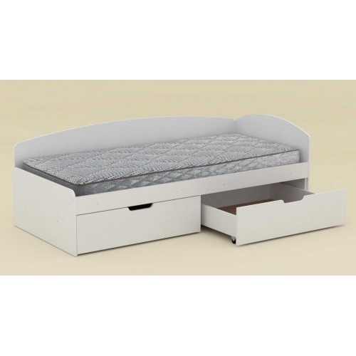 Кровать 90+2C односпальная, Компанит