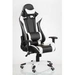 Кресло Extrеmе Racе black/whitе (код: 12493)