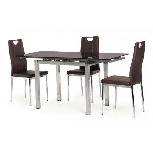 Стол обеденный Т-231-8 (темно-коричневый), Ветро мебель