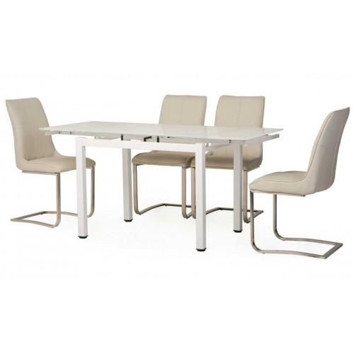 Стол обеденный Т-231-9 (снежно-белый), Ветро мебель