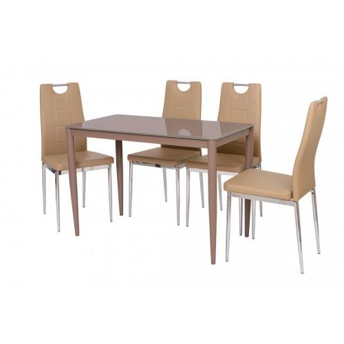 Стол обеденный Т-300-11 (кофе мокко), Ветро Мебель