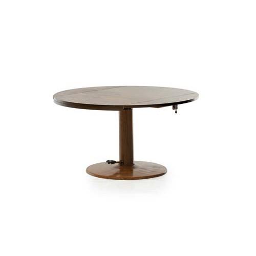 Стол обеденный круглый ТМТ-31 (орех экко), Ветро Мебель