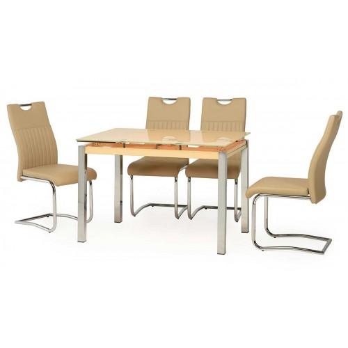Стол обеденный Т-231 (кремовый), Ветро мебель